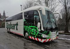 Stobart ESL / Laura Abby at Dumfries Railway Station.© All rights reserved. Eddie Stobart Trucks, Big Trucks, London Transport, Public Transport, Bus Coach, Fan Picture, Busses, Tow Truck, Transportation