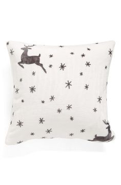Nordstrom at Home Nordstrom at Home Printed Plush Pillow available at #Nordstrom