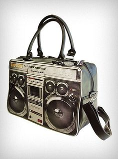 Ghetto Blaster Weekender ($60): Urban geeks can take a piece of the concrete jungle with them wherever they roam with the '80s-inspired Ghetto Blaster Weekender. Cardboard for breakdancing not included.