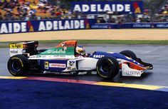 Minardi M194 driven by Michele Alboreto @ the 1994 Australian GP