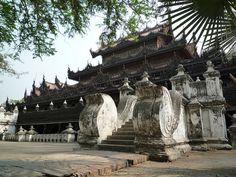 Shwe Kyaung by Zin_Mon_Thet,  Mandalay, Burma