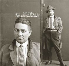 Turns out 1920s mug shots looked like something out of the sartorialist blog