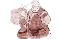 I ship merguffin now because I have this idea how about two years after the movie Merida saves him in the forest and they start talking and he tells her that he was speaking his mothers language two years ago because he does that when he's nervous and then He stays at Her castle and they end up falling in love because in the movie Merida doesn't want to get married because she wasn't ready that doesn't mean she won't be ready later