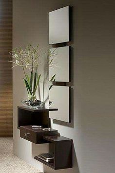Miroir For a small entryway #Smallentryways