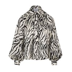 Black Independent Designers African American Clothing, Zebra Print, Printed Blouse, Casual Looks, Sleeve Styles, Work Wear, Coat, Sleeves, How To Wear