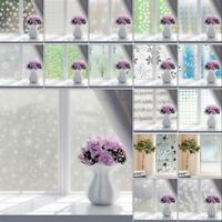 Frosted Privacy Frost Glass Window Film Sticker Bedroom Bathroom Home Decor 2m | eBay Bathroom Window Glass, Frosted Glass Window, Sofa Bed Throws, Lace Table, Home Office Decor, Home Decor, Diy Curtains, Window Stickers, Modern Materials