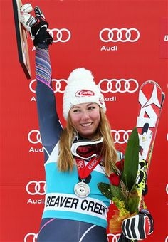 At 18, Mikaela Shiffrin is the youngest person to win a World Cup title and youngest slalom World Champion in the U.S. #Sochi2014 #Vail