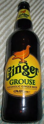 Foodstuff Finds: Alcoholic Ginger Beer - Ginger Grouse