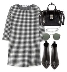 """Untitled #4155"" by theeuropeancloset ❤ liked on Polyvore featuring MANGO, Acne Studios, Ray-Ban, 3.1 Phillip Lim and Cartier"