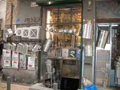 Shop in central Athens