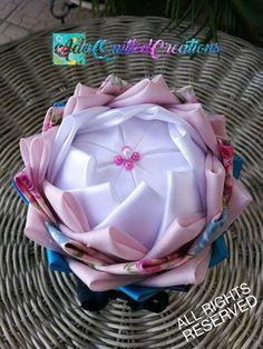 Fabric pot flower flower in a pot pot flower tabletop decor Flower Ball, Flower Pots, Unique Housewarming Gifts, Quilted Ornaments, Styrofoam Ball, Heart Ornament, Teacher Appreciation Gifts, Fabric Decor, Graduation Gifts