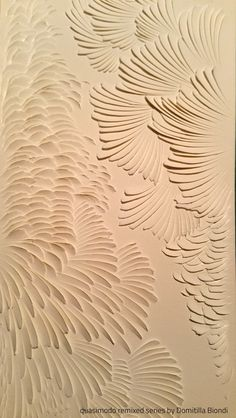 Quasimodo Remixed Series - detail  |  Technique: paper carving   |  Domitilla Biondi  _______ #papercarving #papercut #paperwork #paperpoetry #minimal #basrelief #miniature #white #shadowart #italianartist #japaneseart #harmonia #beauty #spirituality #paperporn #magnifique #light #love #abstract