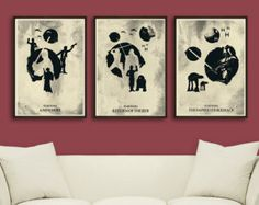 Vintage Pop Art Star Wars C-3PO and R2D2 by 2ToastDesign on Etsy