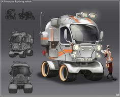 ArtStation - Vehicles V1, Hueala Teodor