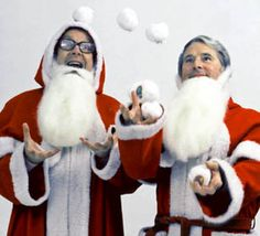 Morecambe and Wise Christmas Special Comedy Duos, Comedy Series, Comedy Tv, Christmas Tv Specials, Retro Christmas, Christmas Stars, Morecambe, Classic Comedies, Laurel And Hardy