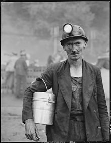 Photos of Past Appalachian Life | History of coal miners - Wikipedia, the free encyclopedia