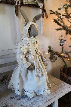 bunnies clothing remind me of Tasha Tudor