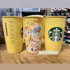 DLR - Starbucks Cartoon Map Double Wall Tumbler - California Adventure — USShoppingSOS