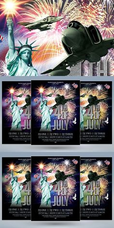 of July Template Joomla Themes, Flyers, Good Times, 4th Of July, Colorful Backgrounds, Dj, Minimal, How To Apply, Coding
