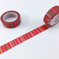 Doodle Lines Washi Tape. This tape is perfect for all paper projects! Use as a border to make unique scrapbook pages! Features a fun design that will accent a large variety of projects! • This listing