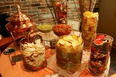 Chip & Salsa Bar--Don't laugh if you think this is silly--but considering its Austin--wouldn't this be fun for later on in the reception?