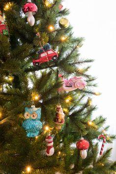 Kerstboom met kerstb