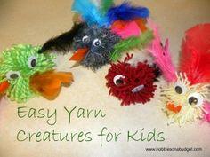 Yarn Creatures
