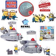 As coisas vão ficar mais rápidas por aqui com este conjunto Mega Bloks! Peça pelo código Reval 58187 (CNC82) pelo 0800-701-1811 ou pelos representantes de vendas de sua região e ótimas vendas!   Há também um assento descoberto para um passageiro corajoso, e um kit de ferramentas caso o veículo quebre. Indicado para crianças acima de 4 anos.  #Reval #Mattel #RadarMattel #MegaBloks #Minions #DespicableMe #MeuMalvadoFavorito #Toy #Brinquedo #Kids