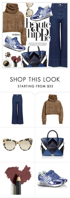"""Haute hippie"" by teoecar ❤ liked on Polyvore featuring STELLA McCARTNEY, H&M, Haute Hippie, Loewe, Jane Iredale, Ash and FratelliKarida"