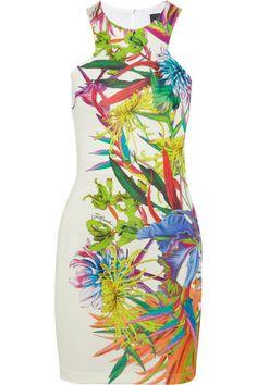 Karibischer cocktail dress