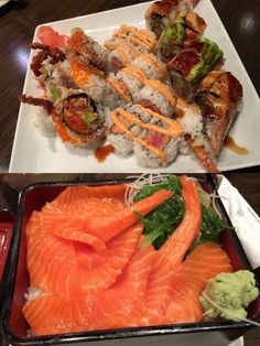 Spider Roll, Dragon Roll, Spicy Tuna Roll and Sake Don @ Kogen's Far East Fare