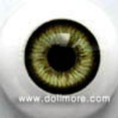 Dollmore  BJD Acrylic Eyes GLASTIC REALISTIC EYES Blue 20mm