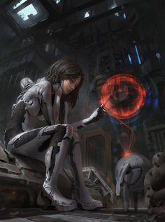 Sci-Fi 2 by IIDanmrak #ScienceFictionDude