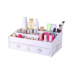 Tyjy Desktop Cosmetics Storage Box Household Drawer Dresser Finishing Box Large Capacity Cosmetic Storage