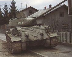 T 34 6 - Soviet tank in Germany 1945