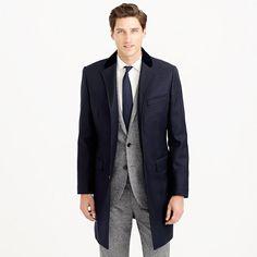 J.Crew - Ludlow Chesterfield topcoat in Italian wool $500