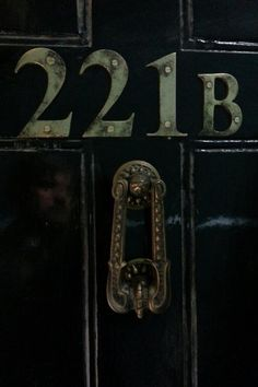 Famous address...even if you don't watch sherlock, (which I highly doubt) you still know what someone means by 221b Baker Street.