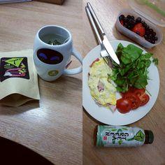 Won some lovely green tea from @DrinkTg  #healthylunch #fitness #greentea #drinktg