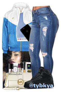 """❣️"" by tybkya ❤ liked on Polyvore featuring NIKE and Tommy Hilfiger"