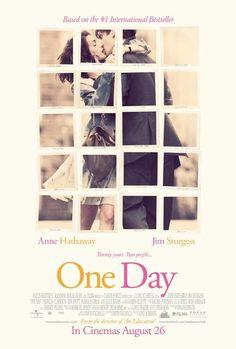 """""""One day (Siempre el mismo día)"""" (Lone Scherfig, 2011) con Anne Harhaway, Jim Sturgess y Patricia Clarckson."""