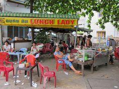 The Lunch Lady, Hanoi, Vietnam