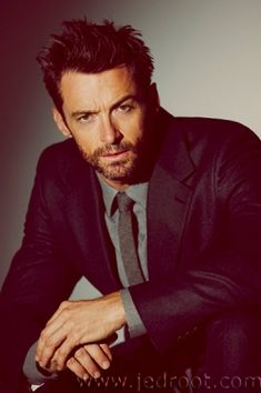 Hugh Jackman... Cannot wait to see him in Les Mis!