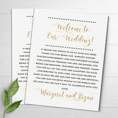 Wedding Welcome Notes Wedding Itinerary Welcome Letters Wedding Welcome Letters, Welcome To Our Wedding, Wedding Thank You, Wedding Costs, Budget Wedding, Wedding Planning, Wedding Bags, Wedding Ideas, Wedding Stuff