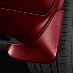 Enclave Splash Guards, Front, Crimson Red: Avoid tire splash and mud with these front splash guards. First Class Seats, Buick Enclave, Mud, Chrome, Leather