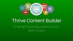 Thrive Content Builder Seo, Content