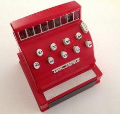 1960s kids toys | SALE Vintage Nolstalgic Tom Thumb Cash Register 1960s children toy
