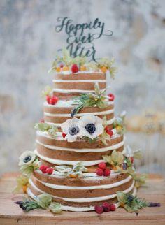 Naked cakes: la tendencia que arrasa en los banquetes de boda Image: 3