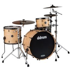 DDrum MAX 322 SN 3PC KIT Satin Natural 22 INCH BASS DRUM - SHELL PACK Drum Set #ddrum