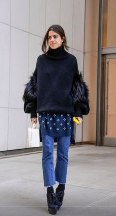 The Man Repeller. Not so in this pic, I don't think!