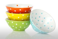 Assorted Dimpled Bistro Bowls